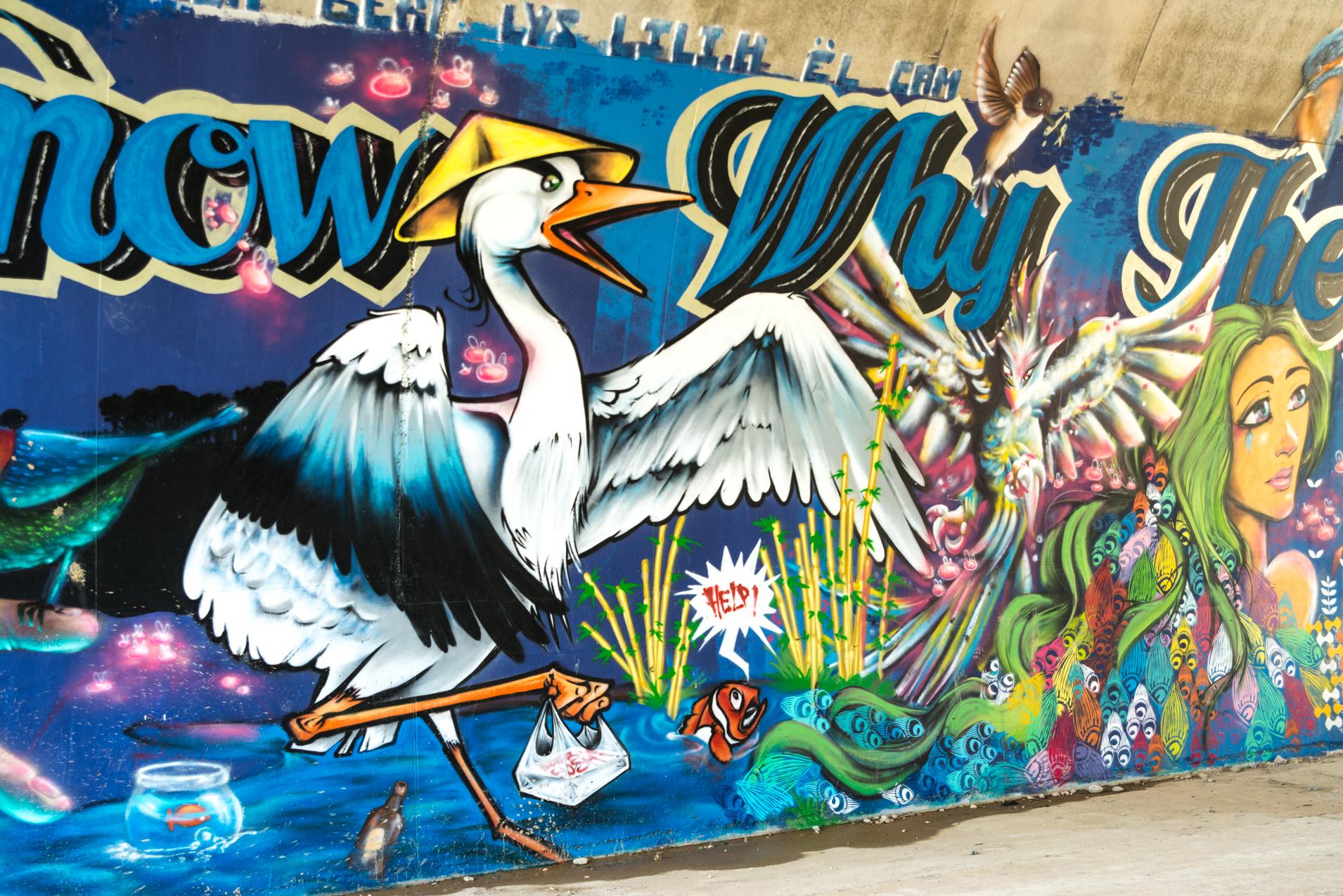 Arche 1 - Fresque côté oiseau
