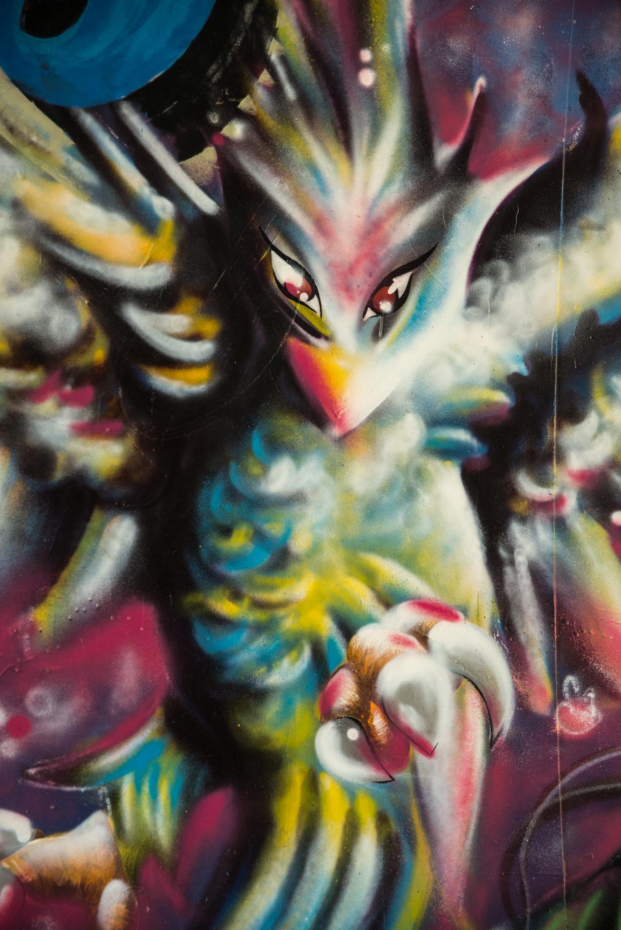 Le pont des Lônes : Street Art