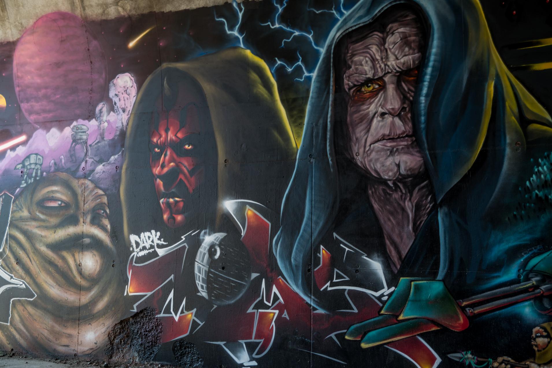 StarWars - Pont des Lônes : Street Art