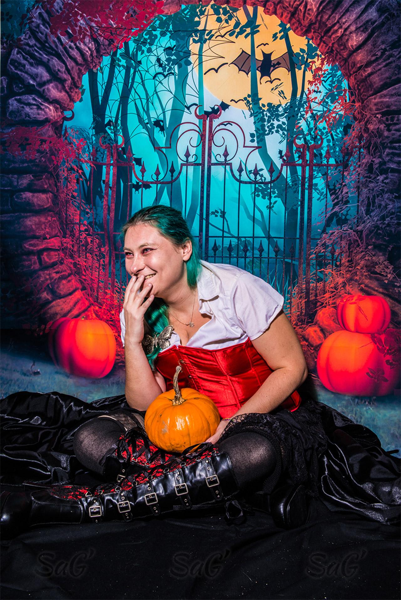 Noémie fête Halloween