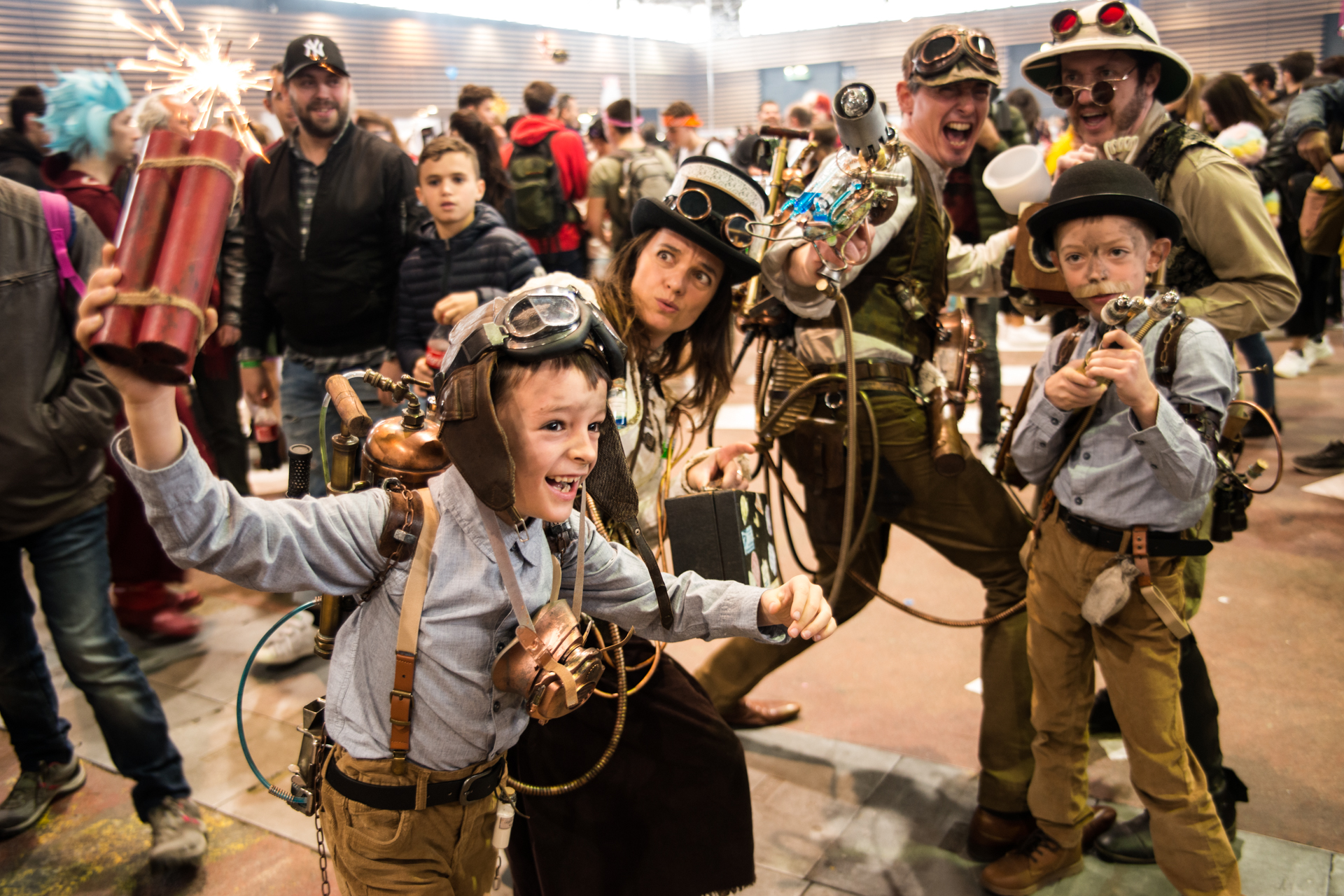 Famille steampunk - Japan Touch 2018