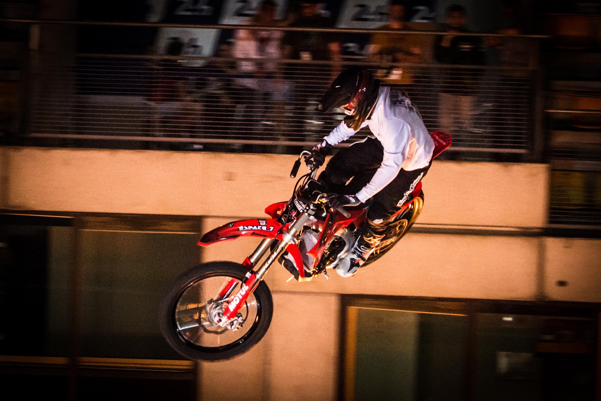 le whip au Show mécanique motos 2019 - 24H du Mans