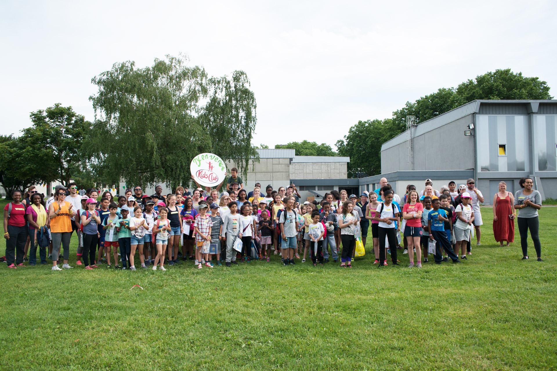 Photo de groupe - Kids club AEE 2018